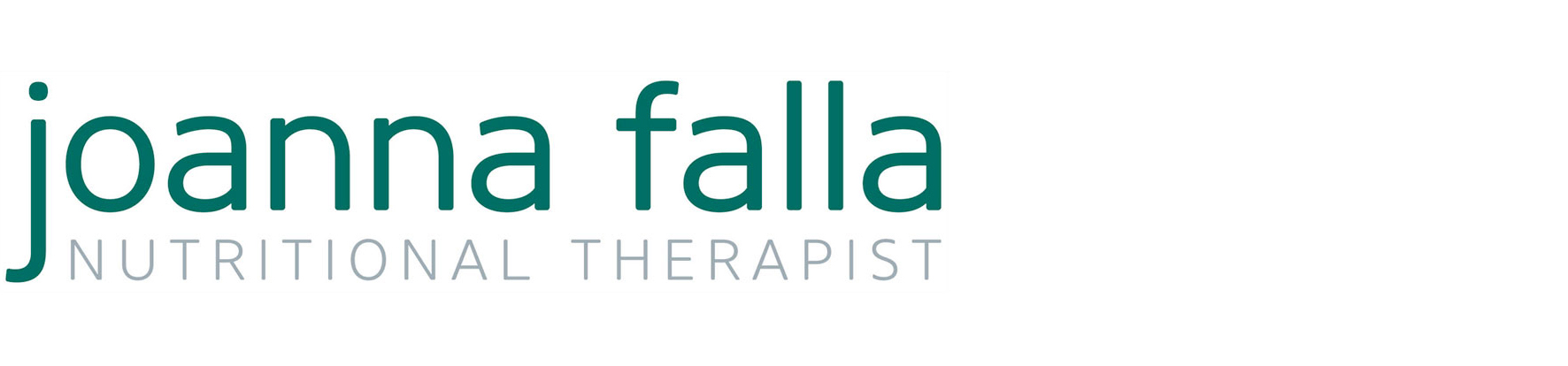 Joanna Falla – Nutritional Therapist Logo